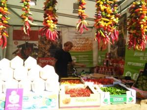 stand de Fruites Soley en Mercat de mercats